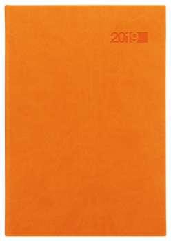 Denní diář 2017 Juliet A5 - oranžový