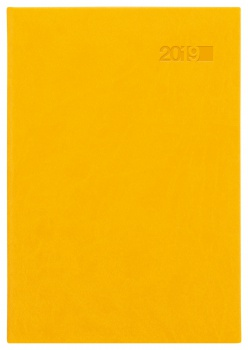 Denní diář 2017 Theia A5 - žlutý