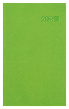 Týdenní kapesní diář 2017 Lacerta - zelený