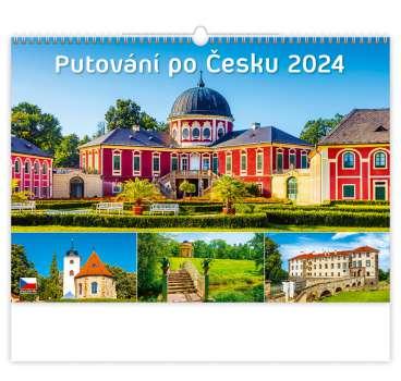 Nástěnný kalendář 2018 Putování po Česku