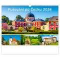 Nástěnný kalendář 2021 Putování po Česku