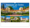 Nástěnný kalendář Putování po Česku