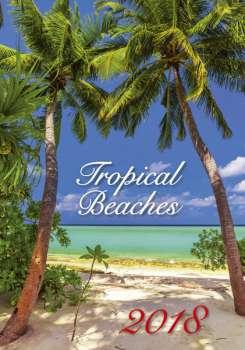 Nástěnný kalendář 2018 Tropical Beaches