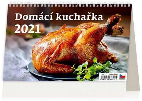 Stolní  kalendář 2018  Domácí kuchařka
