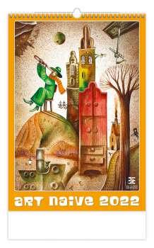 Nástěnný kalendář 2018 Art Naive