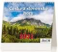 Stolní  kalendář 2018 České a slovenské hory