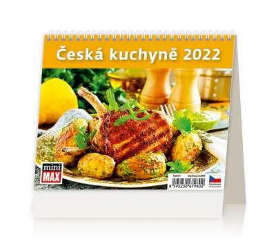 Stolní  kalendář 2018  MiniMax Česká kuchyně