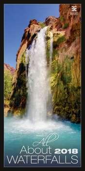 Nástěnný kalendář 2017 All About Waterfalls