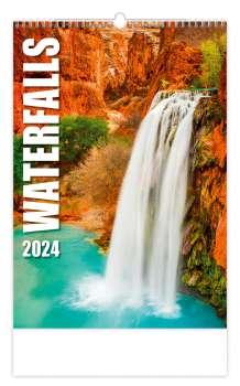 Nástěnný kalendář 2018 Waterfalls