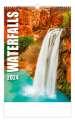 Nástěnný kalendář Waterfalls