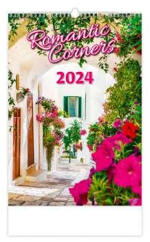 Nástěnný kalendář 2018 Romantic Corners
