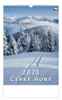 Nástěnný kalendář 2017 České hory