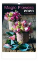 Nástěnný kalendář 2020 - Magic Flowers