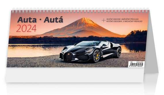 Stolní  kalendář 2018  Auta/Autá
