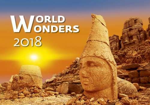 Nástěnný kalendář 2018 World Wonders