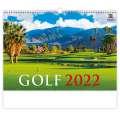 Nástěnný kalendář 2022 Golf