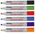 Popisovače na flipcharty Niceday - mix barev, sada 6 ks