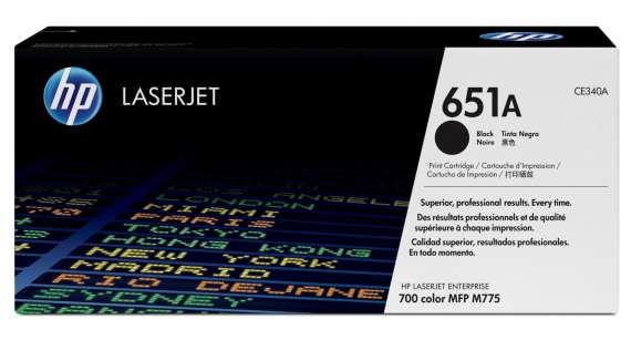 Toner HP CE340A, černá