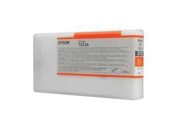 Cartridge Epson C13T653A00 - oranžová