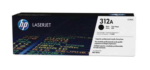 Toner HP CF380A/312A - černá