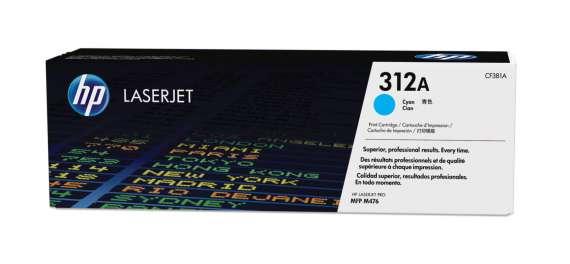 Toner HP CF381A/312A - azurová
