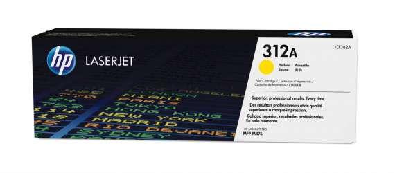 Toner HP CF382A/312A - žlutá
