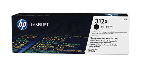 Toner HP CF380X/312X - černý