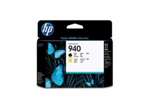Tisková hlava HP C4900A/940 - černá/žlutá