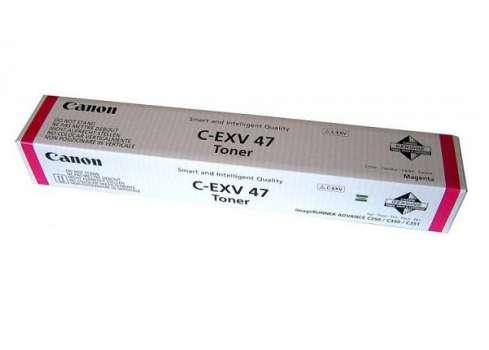Toner Canon C-EXV47M, purpurová