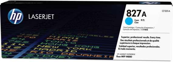 Toner HP CF301A - azurový