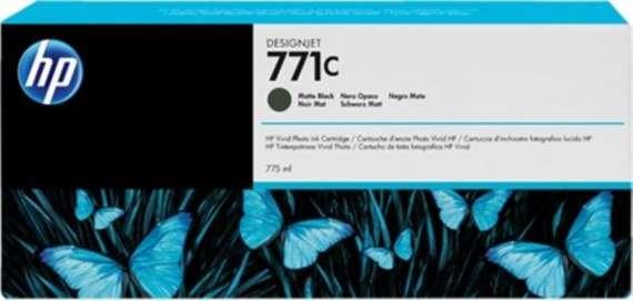 Cartridge HP B6Y07A/771C - černá