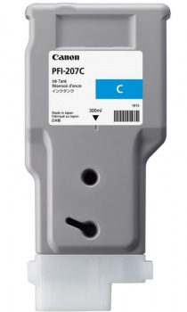 Cartridge Canon PFI-207C - azurová