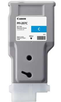 Kazeta inkoustová Canon PFI-207C, azurová