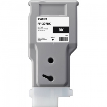 Kazeta inkoustová Canon PFI-207BK, černá