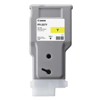 Cartridge Canon PFI-207Y - žlutá
