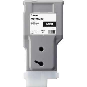 Kazeta inkoustová Canon PFI-207MBK, matná  černá