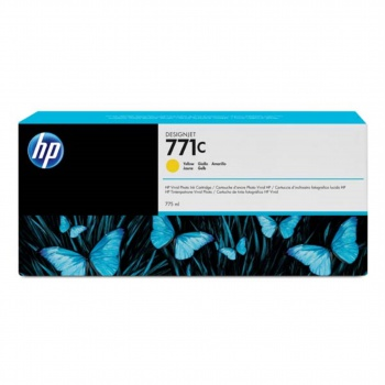 Toner HP B6Y10A/771C - žlutý
