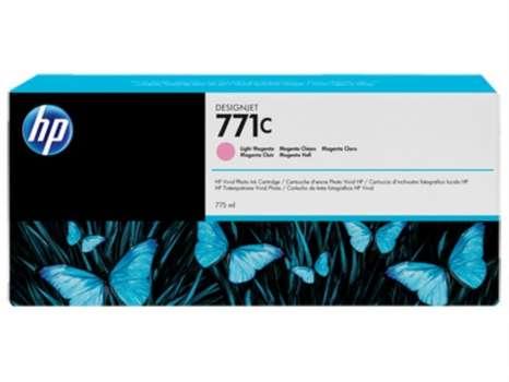 Cartridge HP B6Y11A/771C - světle purpurová