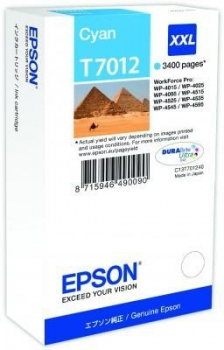 Cartridge Epson C13T70124010 - azurová