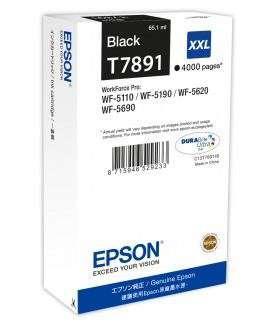 Cartridge Epson C13T789140 XXL - černá