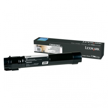 Toner Lexmark C950X2KG - černý