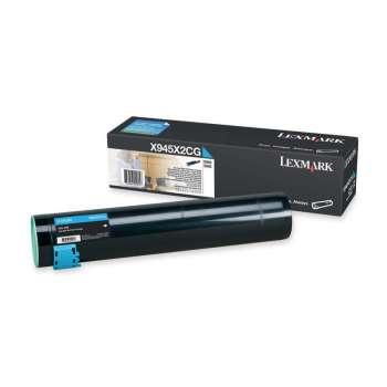Toner Lexmark X945X2CG - azurový