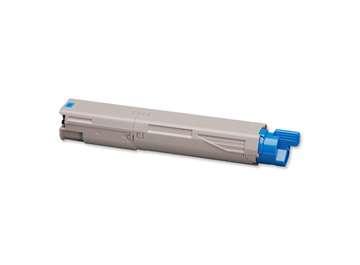 Toner OKI 43459371 - azurový