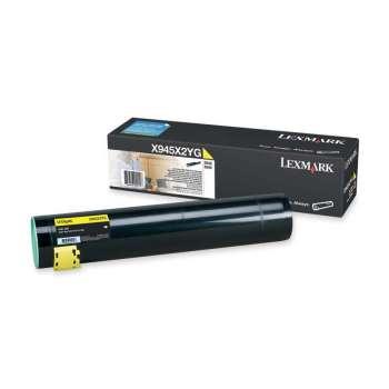 Toner Lexmark X945X2YG - žlutá