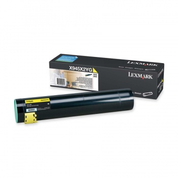 Toner Lexmark X945X2YG - žlutý