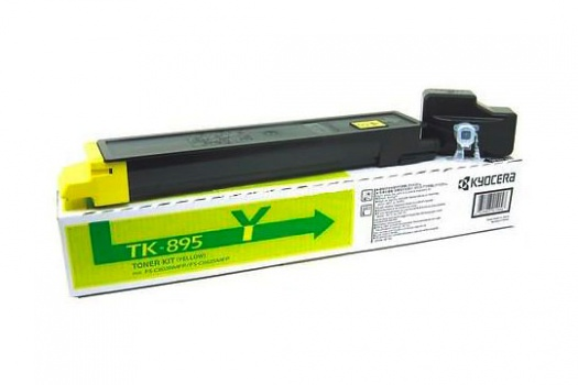 Toner Kyocera TK-895Y - žlutá
