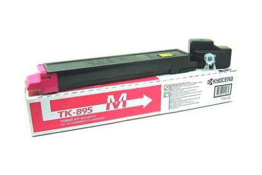 Toner Kyocera TK-895M - purpurový