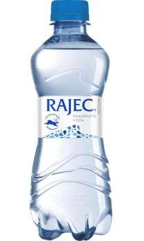 Pramenitá voda Rajec - neperlivá, 12 x 0,33 l, plast