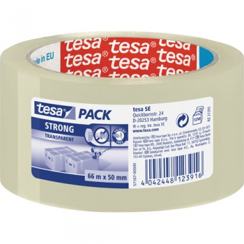 Páska balicí TESA 50,0 mm x 66,0 m transp.