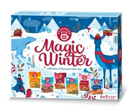 Kolekce čajů Teekanne Magic Winter, 64g